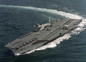 Image of: Complex systems: Platforms such as aircraft carriers