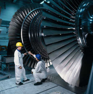 Image of: Optimising turbine blade design