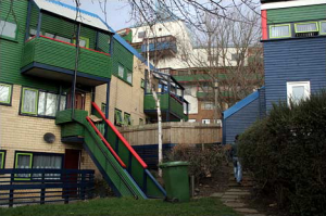 Image of: Social housing in Byker, Newcastle upon Tyne