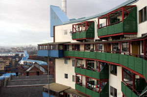 Image of: Recent work has included energy assessment studies of social housing