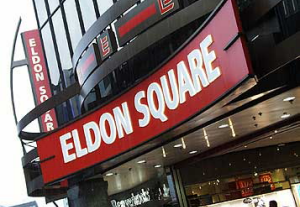 Image of: Eldon Square Shopping Centre, Newcastle upon Tyne