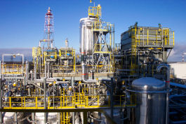 Image of: Heavy industrial plant