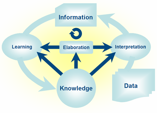 Image of: Fig 1. The role of knowledge in driving the transformation process